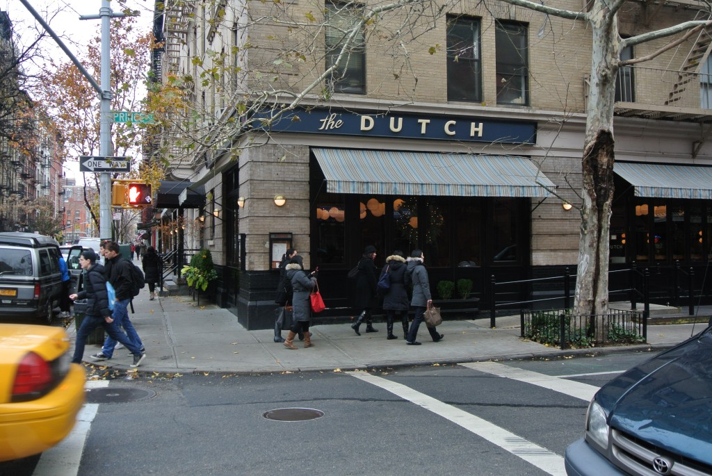 The Dutch - in SOHO on the corner of Sullivan and Prince Streets.