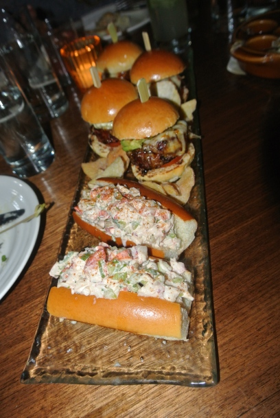 Kobe Beef and Lobster Roll sliders!