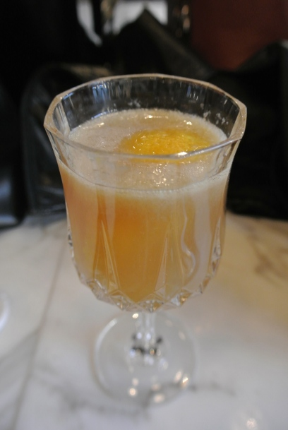 The Weslodge Streetcar cocktail