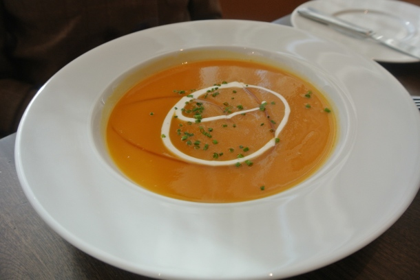 Appetizer - Root vegetable soup