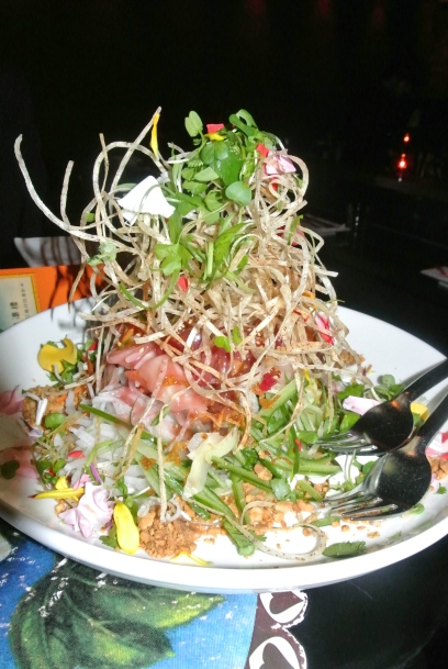 Susur Lee's signature Singaporean-style Slaw