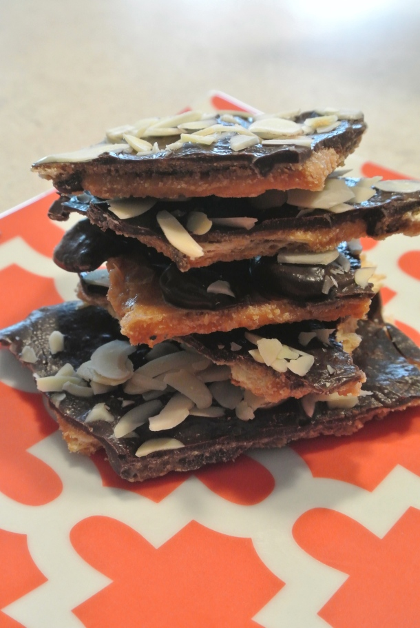 Saltine Toffee Brittle