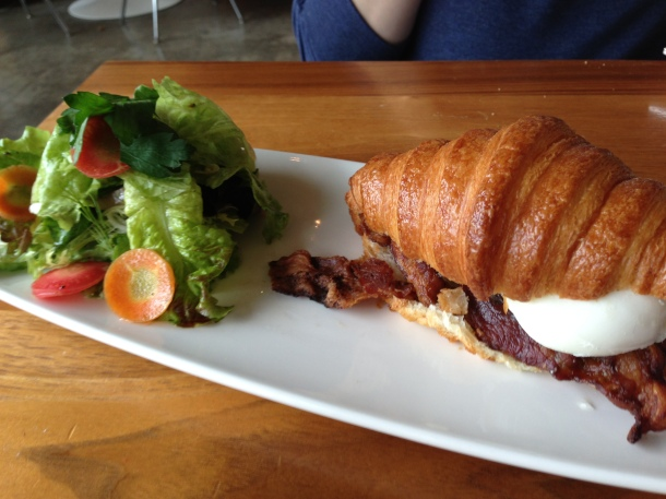Veda's Choice - a fancy and delicious breakfast sandwich.