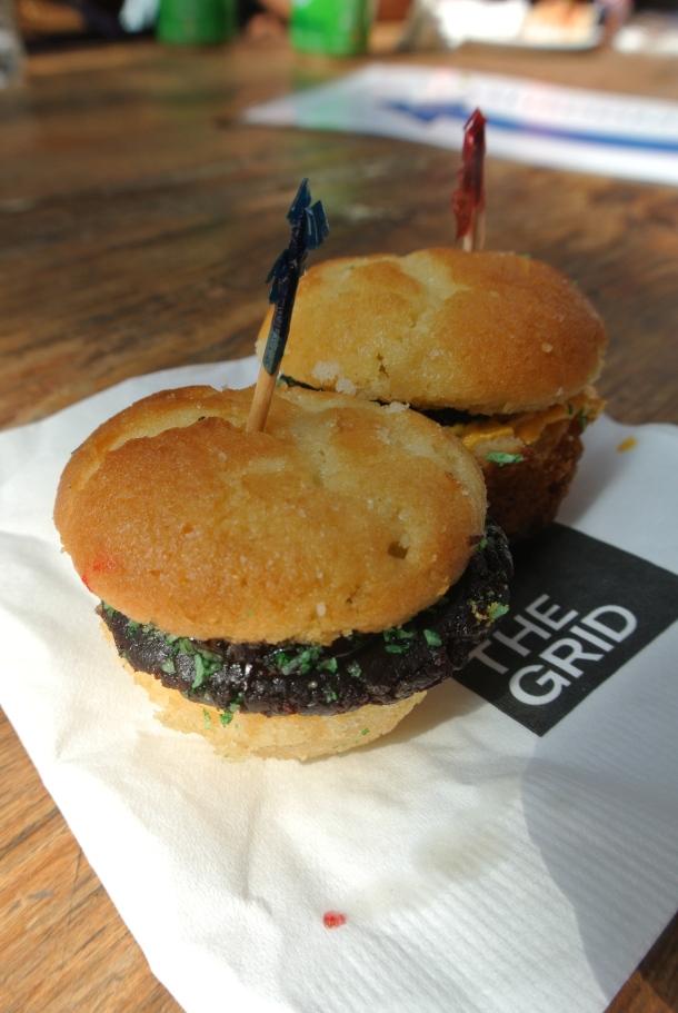 Madeleines - cupcake burgers, how sweet?