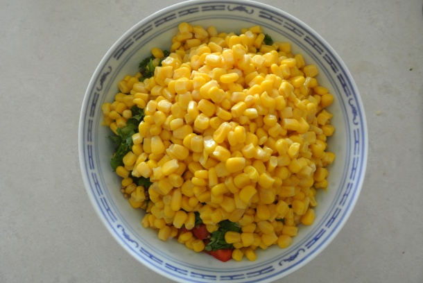 You can't have corn salsa without the corn!