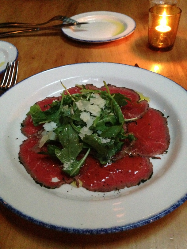 Appetizer - Carpaccio.
