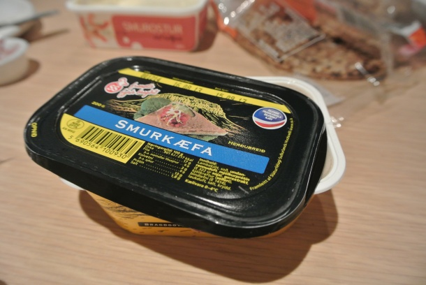 Icelandic pate - not sure what kind it is but it was tasty!