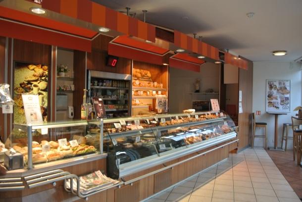 Inside Kornid bakery.