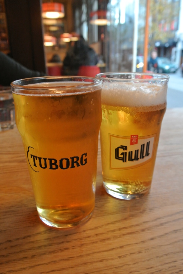 Some more Icelandic beer - Tuborg and Gull.