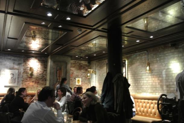Inside Social Eating House.
