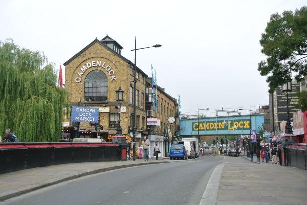 Camden Lock Market.