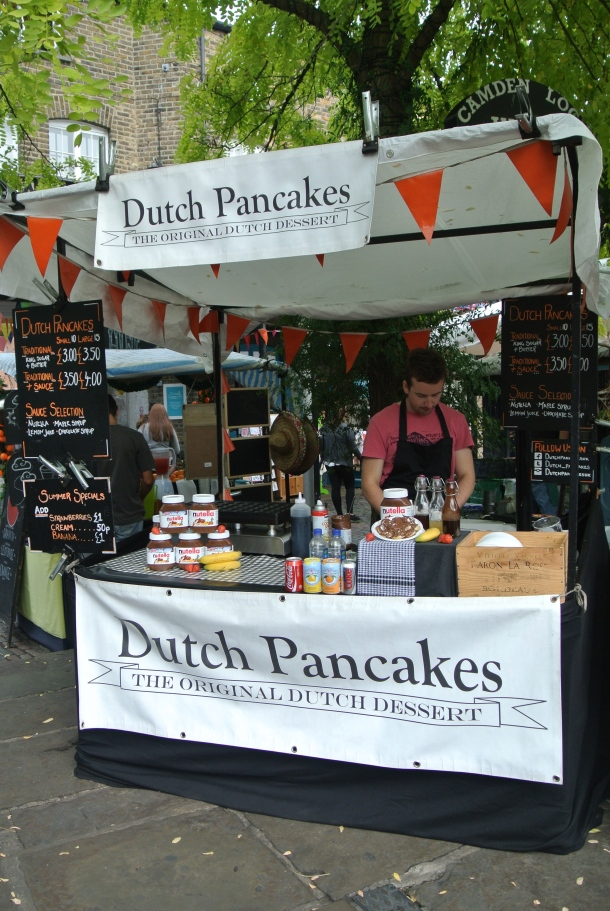 Dutch Pancakes booth.
