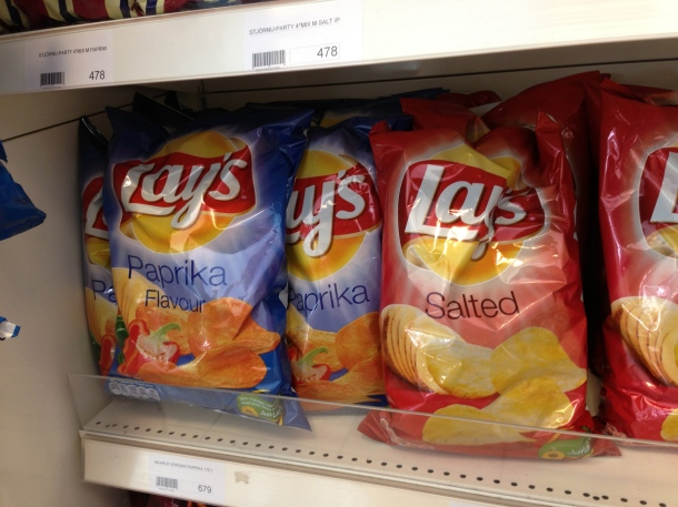 Paprika flavoured Lays Chips!