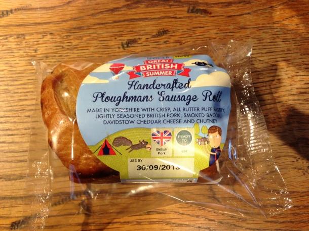 M&S - sausage roll