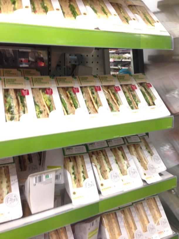 M&S - sandwiches