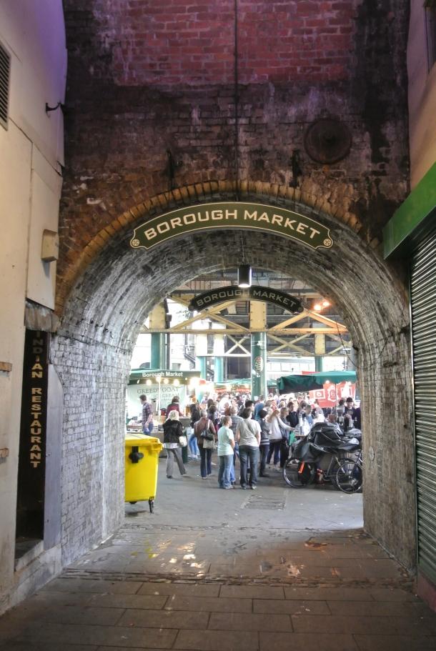 Borough - entrance