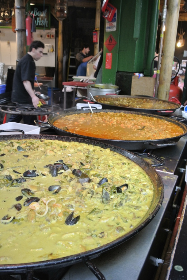Borough - paella