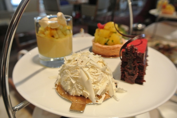 Shangri-la - coconut cake