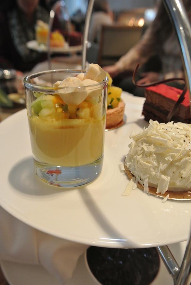Shangri-la - passionfruit custard