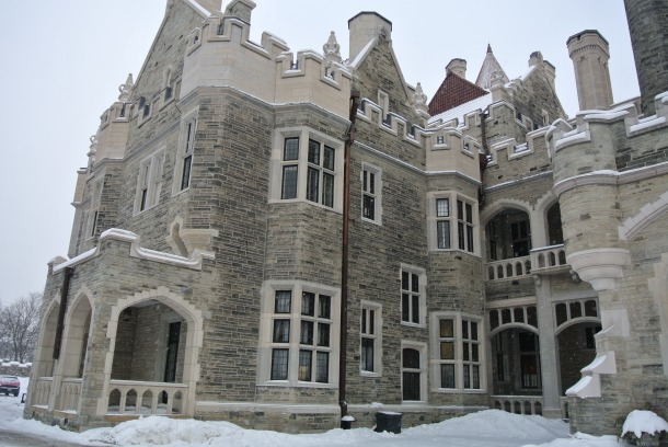 Casa loma - east front