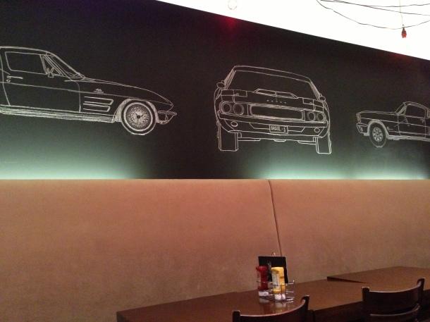 Motor Burger - inside
