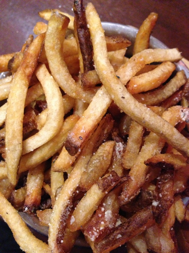 Motor burger - fries