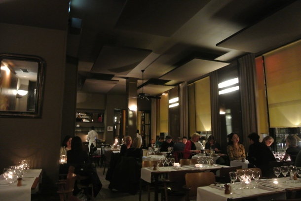 Interior of Le Fumoir.