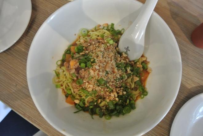 Noodle bar - dan dan mein