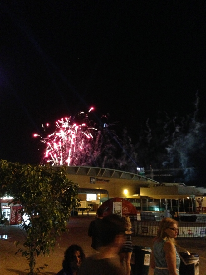 CNE - fireworks