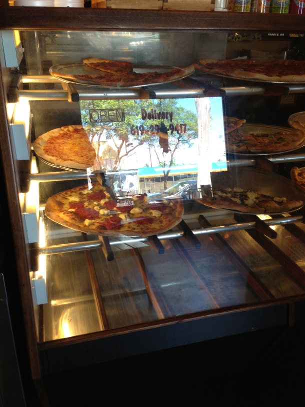 Pizza window.