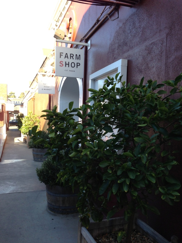 The Farm Shop in Santa Monica.