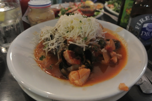 The California staple - cioppino.