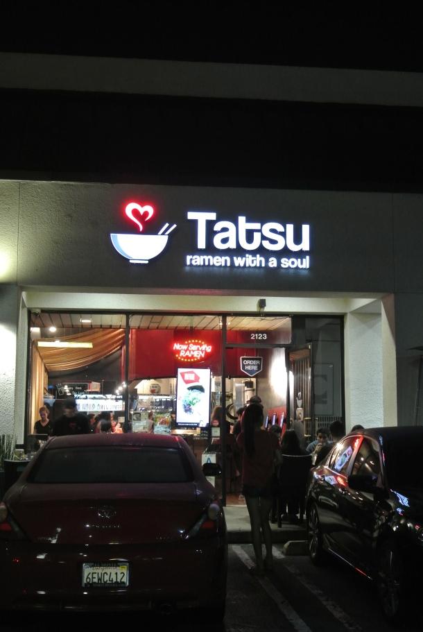 Tatsu ramen noodle house.
