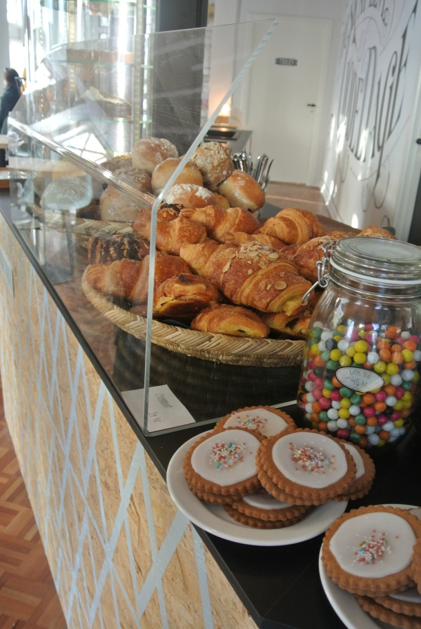 Some of the delicious pastries available at Nelle's.