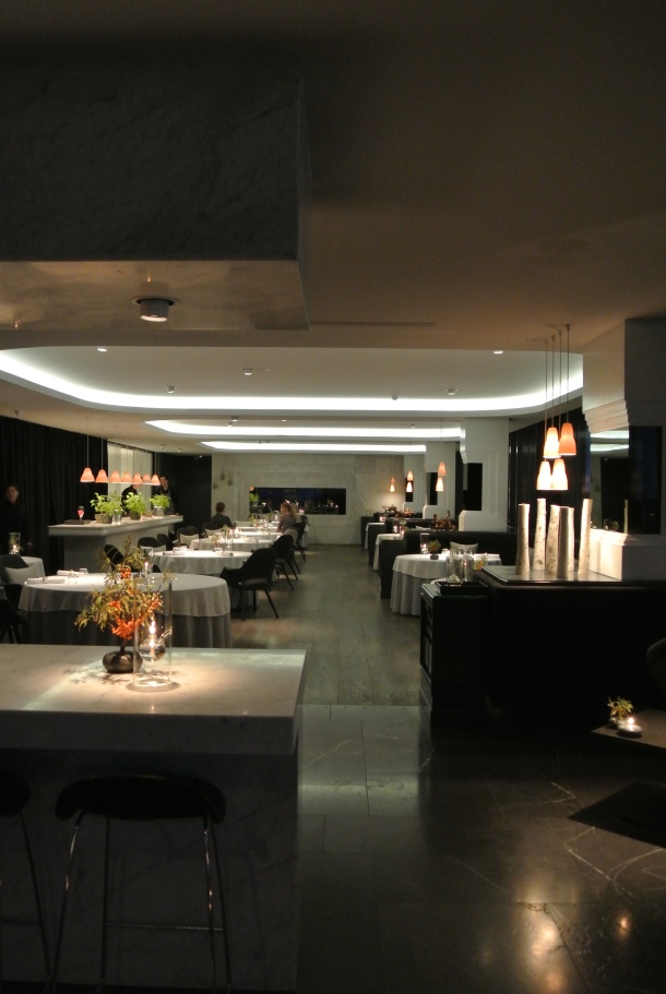 The gorgeous dining room at Geranium.