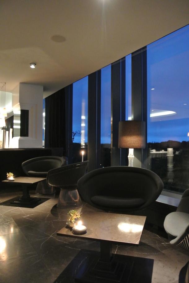 The lounge at Geranium.