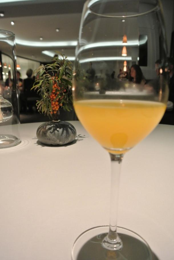 Another homemade juice from Geranium.