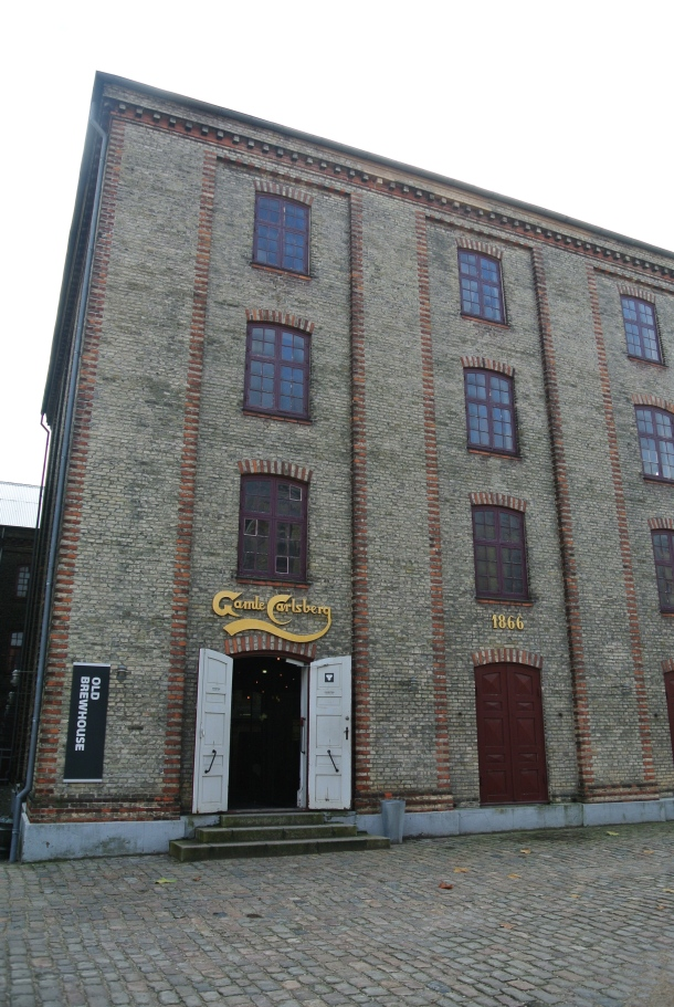The original Carlsberg brewhouse.
