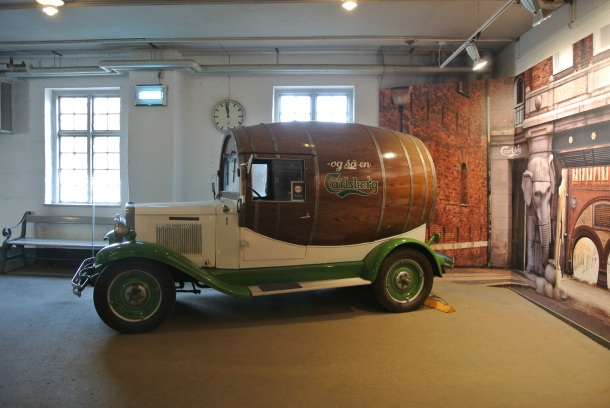 One of the original Carlsberg delivery trucks.