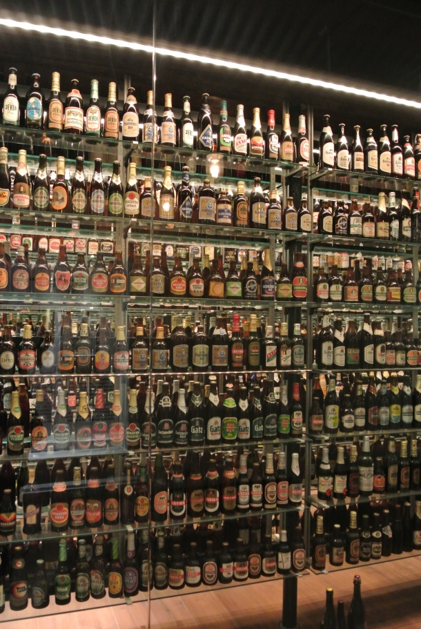 J.C. Jacobsen's bottle collections - the world's largest unopened beer bottle collection.