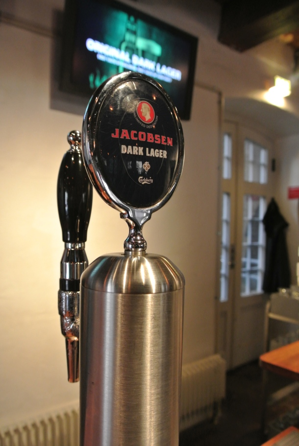 The original brew - the Jacobsen dark lager.