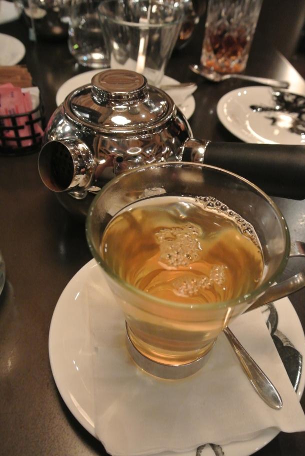 Kombucha cleansing tea.