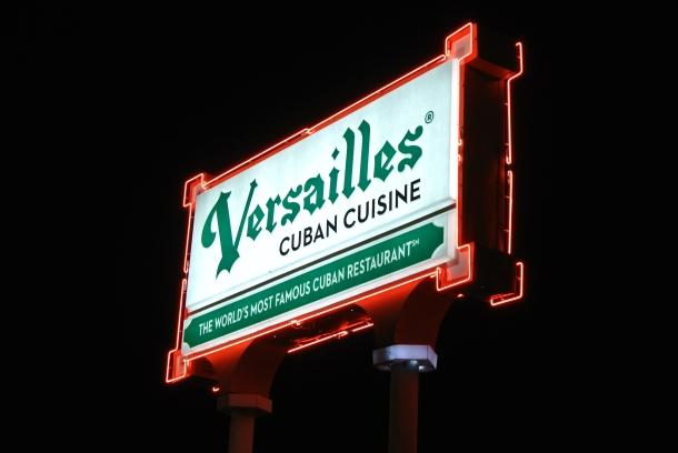 Versailles Cuban Cuisine Restaurant.