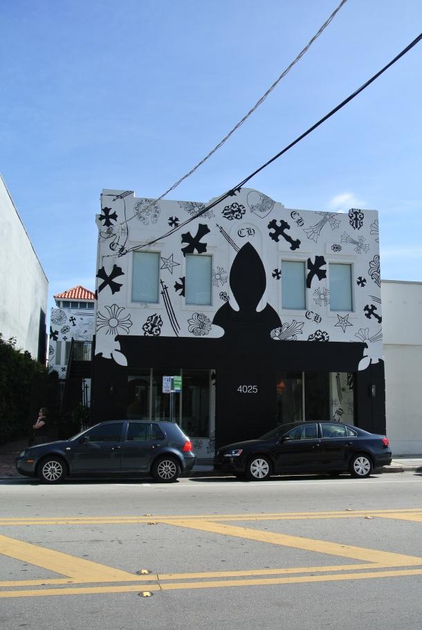 Chrome Hearts in Miami's Design District.