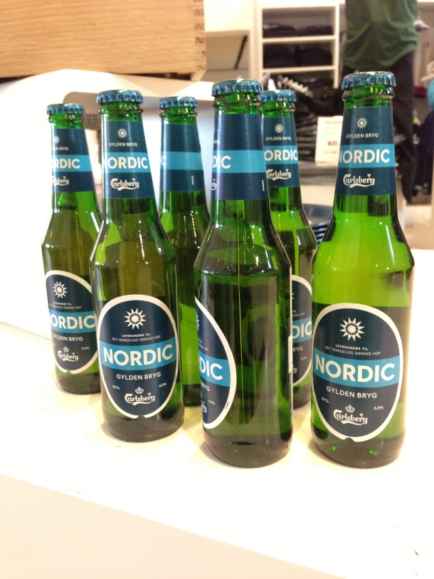 Some of Carlsberg's new brews, I haven't seen these in Canada before.