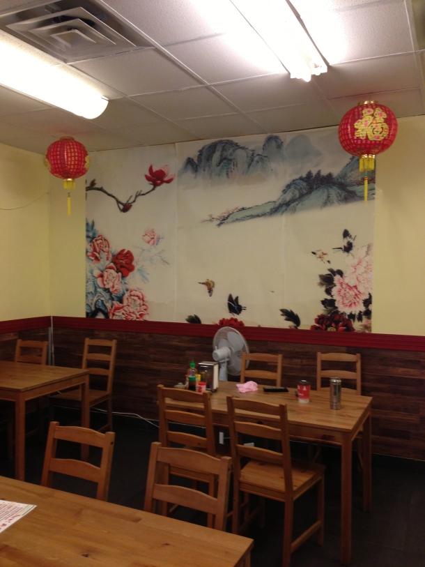 Inside Dumpling King.