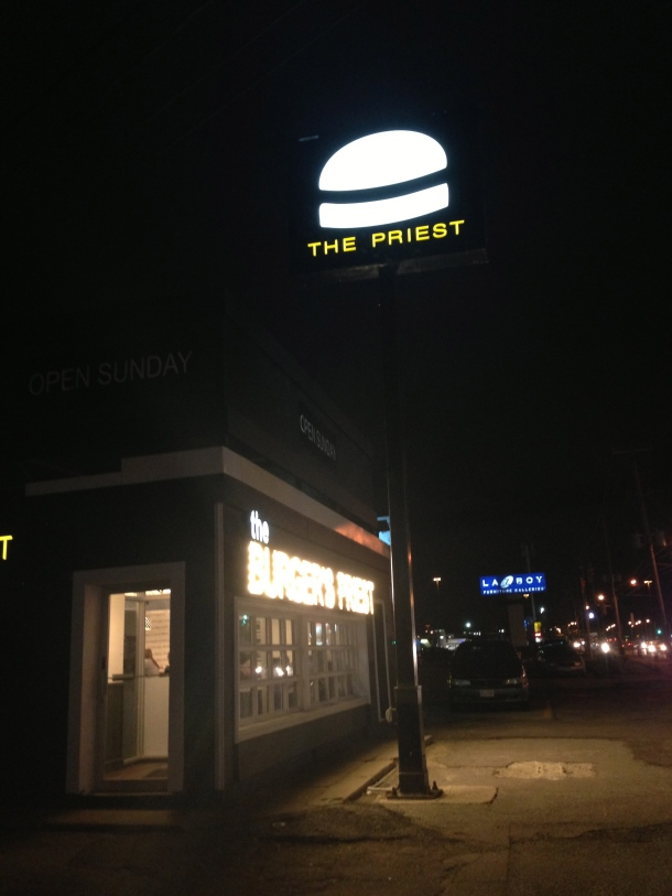 The famous Burger's Priest.