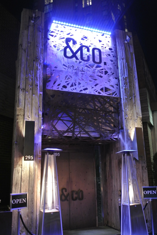 The entrance to &Company.