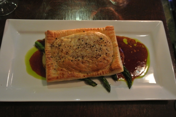 Main course 2 - Salmon Wellington.