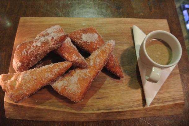 Dessert - Espresso Vanilla Beignets.